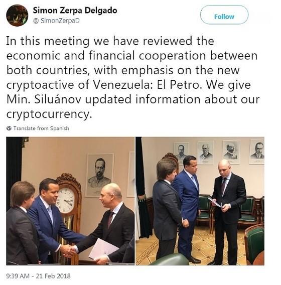 Criptovaluta Petro: collaborazione fra Russia e Venezuela