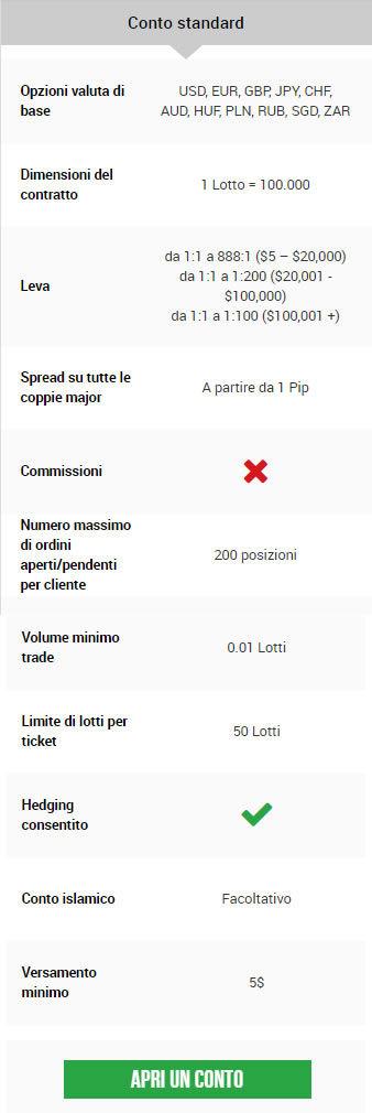 conto standard 1
