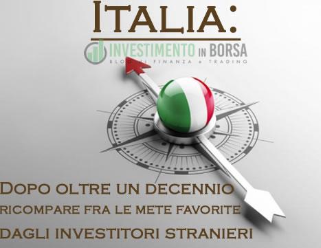 Italia: nella top 10 delle mete preferite per investire