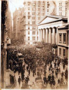 La storia del mercato azionario